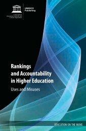 Rankings and Accountability in Higher Education - Seminario de ...