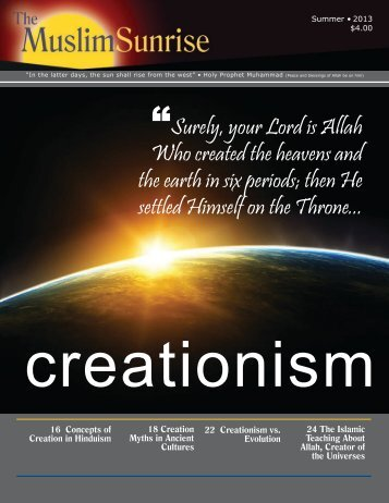 Summer issue - The Muslim Sunrise