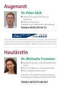 Im Facharzt- Zentrum Deutschfeistritz betreuen Sie - Marktgemeinde ... - Seite 5