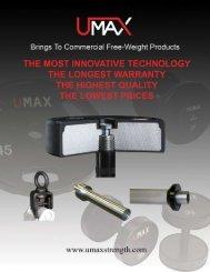 UMAX Catalog 2008.pdf - Used Fitness Equipment