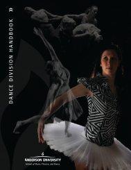 Dance Handbook [PDF] - Anderson University
