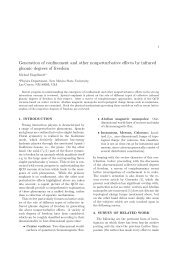 Generation of confinement and other nonperturbative effects by ...