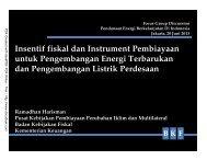 Ramadhan_Insentif fiskal dan Instrument Pembiayaan untuk ... - IESR