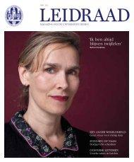 Leidraad zomer 2011 - O - Universiteit Leiden
