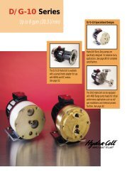 D/G-10 Series - BBC Pump and Equipment