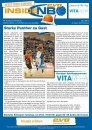 OKE Panthers - New Basket 92 Oberhausen