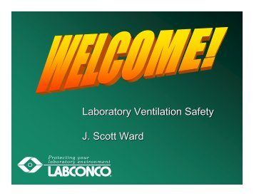 Presentation Slides - Environmental Health & Safety