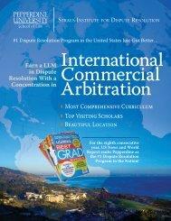 Download the ICA Brochure - Pepperdine University School of Law