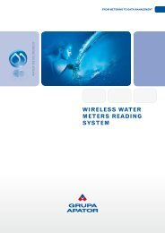 Wireless Water meters reading system - firsttech.ro