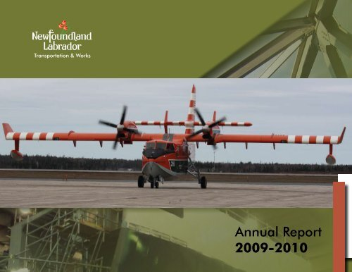 Department of Transportation and Works Annual Report 2009-10