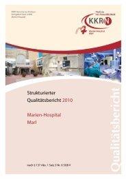 A. Struktur- und Leistungsdaten des Krankenhauses - Kkrn