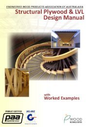 EWPAA Structural Plywood and LVL Design Manual - Engineered ...