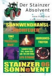 Der Stainzer Absolvent - LFS Stainz