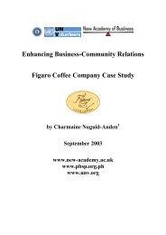 Figaro Coffee Company Case Study - World Volunteer Web