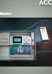 Decoder - Hunter Industries