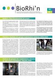 Biorhin bulletin n2.indd - Chambre d'agriculture du Bas-Rhin
