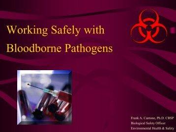 Bloodborne Pathogen - Environmental Health & Safety