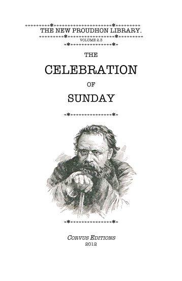 Celebration of Sunday [pdf]