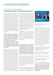 Le débat nucléaire : que faire des déchets ? France 24 – 09 ... - Sfen