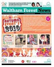 Autumn event's - Waltham Forest Council