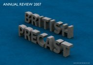 ANNUAL REVIEW 2007 - British Precast
