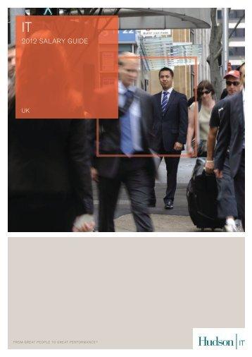 IT Salary Survey 2012 - Hudson