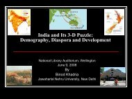India and Its 3-D Puzzle: Demography, Diaspora and Development