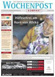 Hilfeschrei am Horn von Afrika