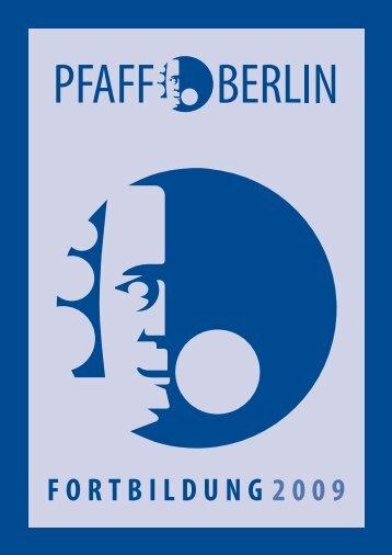 FORTBILDUNG 2009 - Philipp-Pfaff-Institut