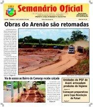 Obras do Arenão são retomadas - Câmara Municipal de Avaré