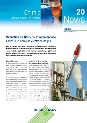 Industry Newsletter Chemical 20 - METTLER TOLEDO