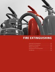 FIRE EXTINGUISHING - Commercial Solutions Inc