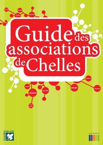 guide des associations (pdf - 5,65 Mo) - Ville de Chelles