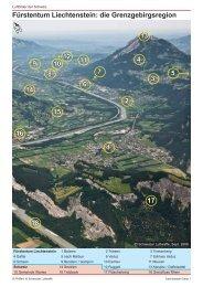 Fürstentum Liechtenstein - Luftbilder der Schweiz