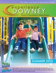 Summer Guide 2013 - City of Downey