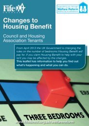 Changes to Housing Benefit - Home Page