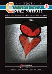 Cardiologia negli Ospedali n° 144 Marzo/Aprile 2005 - Anmco