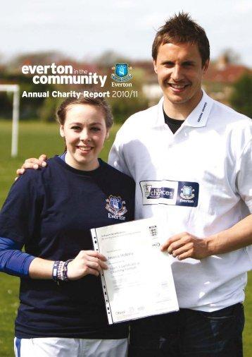 2011 Annual Report - Everton In The Community