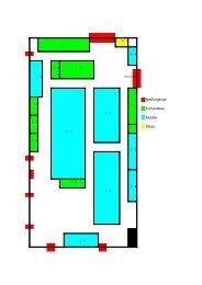 Udstillernes placering i hallen - Dansk Model Jernbane Union
