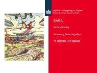 Presentatie EASA eerste uitbreiding - Inspectie Leefomgeving en ...