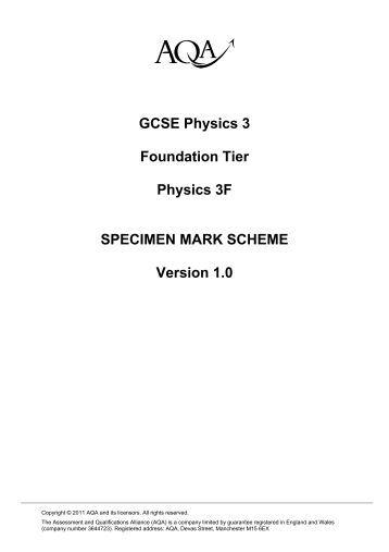 aqa mark schemes english gcse coursework