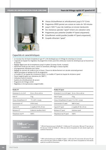 fours de frittage pour zircone - Euromax Monaco