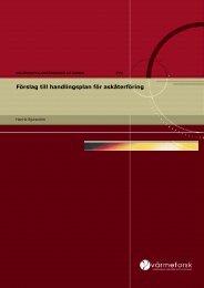 Förslag till handlingsplan för askåterföring - Svenska EnergiAskor AB