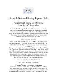 Scottish National Racing Pigeon Club