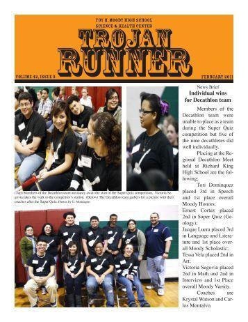 Volume 42, Issue 5 - Moody High School