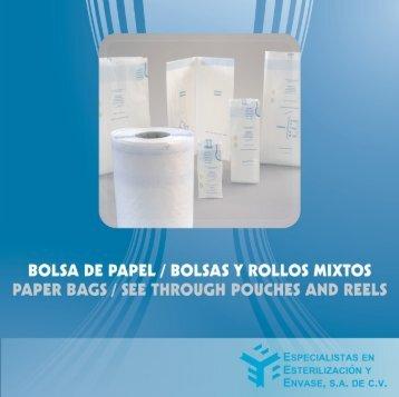 BOLSA DE PAPEL/ BOLSAS Y ROLLOS MIXTOS ... - QuimiNet.com
