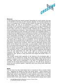 Download English Summary of German Report - CrossingOver - Page 2