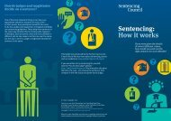 Sentencing: How it works