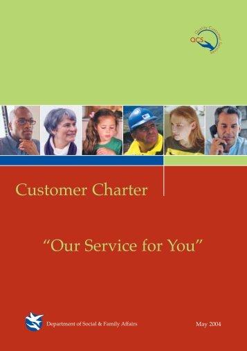 Customer Charter 2004-2007 - Welfare.ie