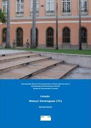 Coleção Moacyr Domingues - Arquivo Nacional
